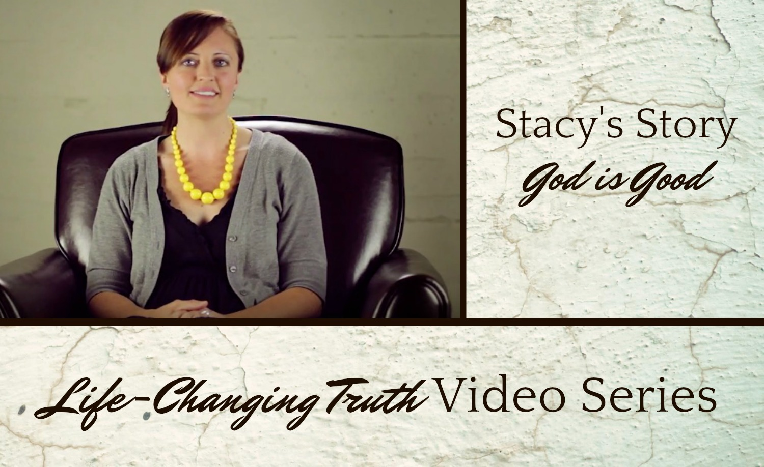 Life-Changing Video Series | The Four G's | Tim Chester | Soma Church | Christine M. Chappell